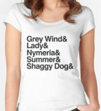 The Direwolves Women's Fitted Scoop T-Shirt