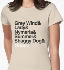 The Direwolves Womens Fitted T-Shirt