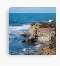 Portuguese Atlantic coast Canvas Print