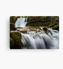 Janet's Foss Waterfall Canvas Print