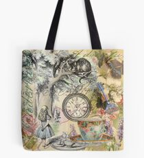 Cheshire Cat Alice in Wonderland  Tote Bag