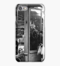 Bar Tabac, Rue Mouffetard, Paris, December 2004 iPhone Case/Skin