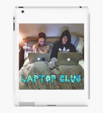 Joe and Caspar Laptop Club iPad Case/Skin
