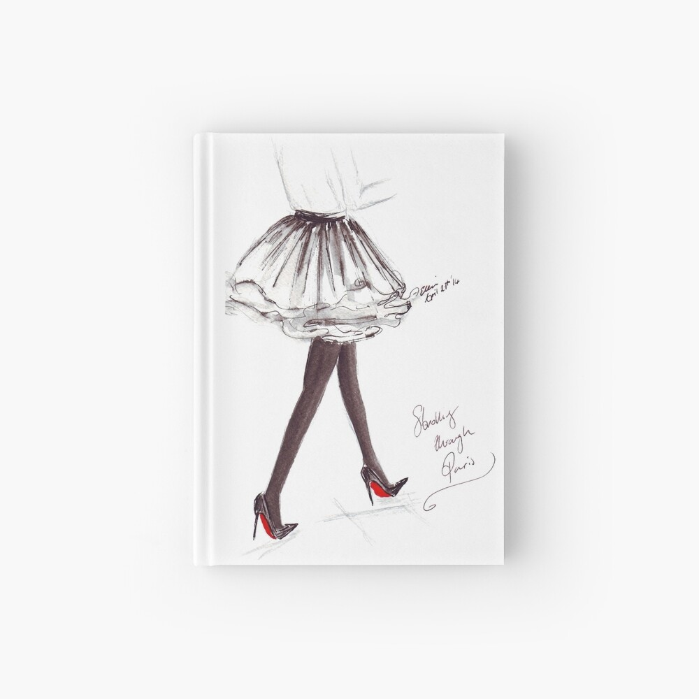 Strolling Through Paris Hardcover Journal