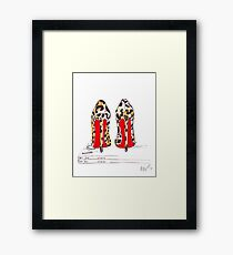 Louboutin Obsession Framed Print
