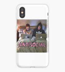 Joe and Caspar Antisocial iPhone Case/Skin