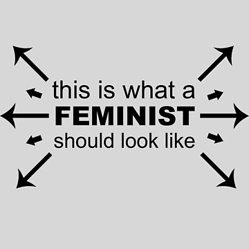 What A Feminist Looks Like by geekyness
