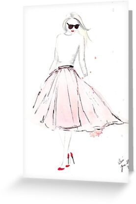 Pink Tulle by Eleni Fall into London