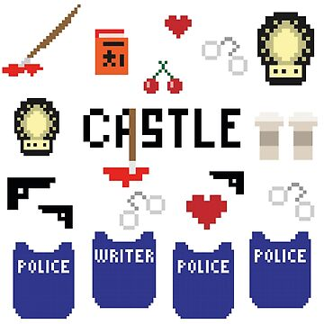 Castle in pixels by lacacamola
