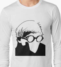 Hockney - vacant expression Long Sleeve T-Shirt