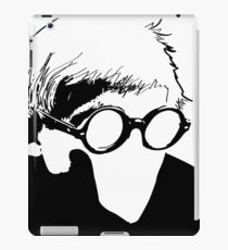 Hockney - vacant expression iPad Case/Skin