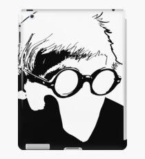Hockney - vacant expression iPad Case/Skin