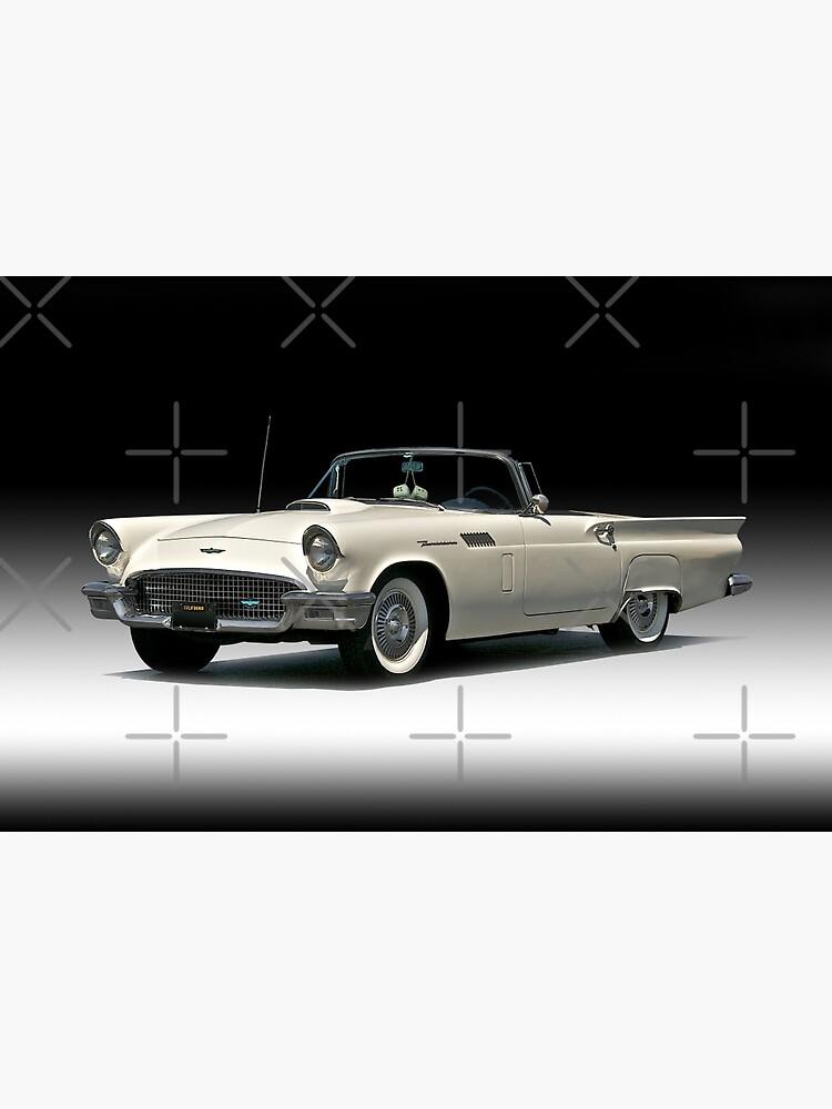 1957 Ford Thunderbird Convertible by DaveKoontz