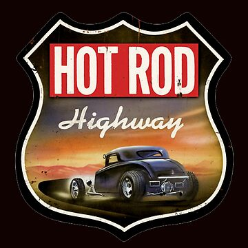 hot rod : highway by HuldaMacdon