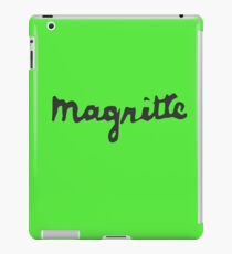Magritte - Signature iPad Case/Skin