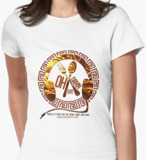 Oh Damn Entertainment Merchandise Women's Fitted T-Shirt