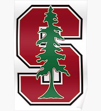Stanford Ivy League Logo Poster