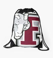 Ram Fordham University Logo Drawstring Bag