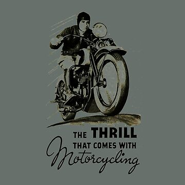 the thrill that comes with motorcycling by HuldaMacdon