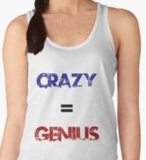 Crazy=Genius Women's Tank Top