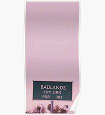 Badlands City Limits Poster