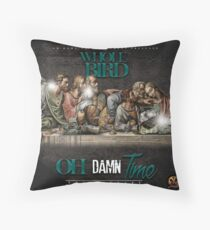 Oh Damn Time Apparels  Throw Pillow