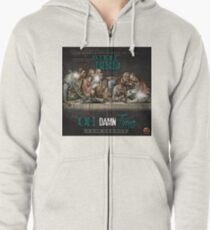 Oh Damn Time Apparels  Zipped Hoodie