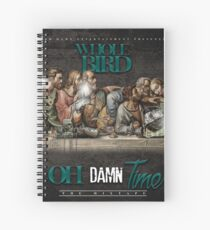 Oh Damn Time Apparels  Spiral Notebook