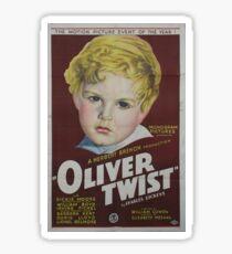 classic movie : Oliver Twist Sticker