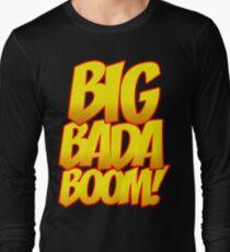 Big Bada Boom Comic Book T Shirt T-Shirt