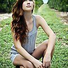 Keren in an Orange Grove 2 by redhairedgirl