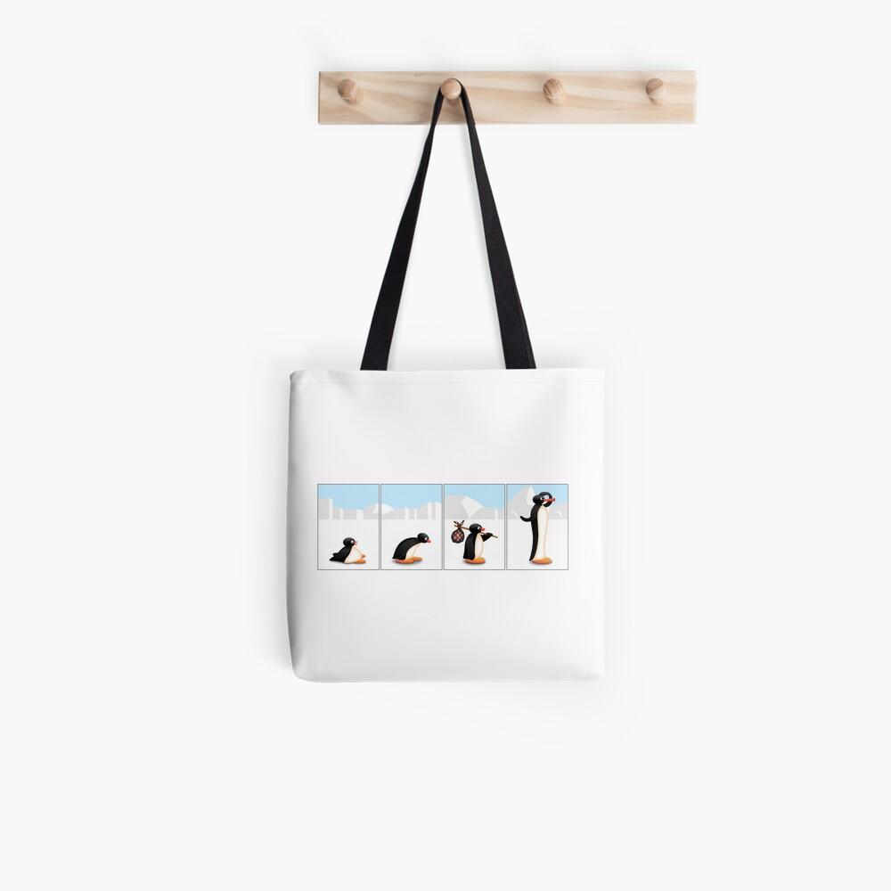 Die Pinguin-Evolution Stofftasche