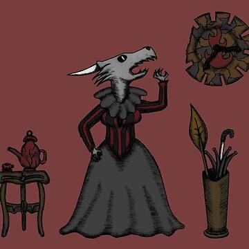 Dragon Lady Fire by ARTStramik