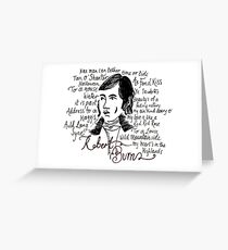 Burns night greeting cards redbubble robert burns greeting card m4hsunfo