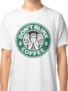 Weeping Angel of Original Starbucks Logo Classic T-Shirt