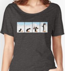 The penguin evolution Women's Relaxed Fit T-Shirt