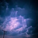 Mammatus Clouds by redhairedgirl