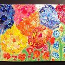 Floral Dream.  Waiting for spring series. Painting Andrzej Goszcz. by © Andrzej Goszcz,M.D. Ph.D