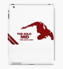 The Solo Mid League of Legend Zed iPad Case/Skin