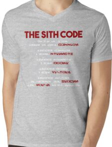 The Sith Code  Mens V-Neck T-Shirt