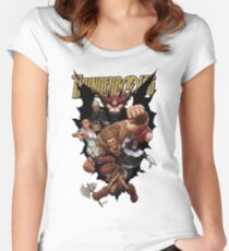 Thunderbolts Medieval Women's Fitted Scoop T-Shirt