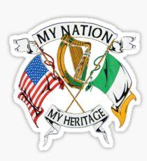 My Nation, My Heritage Sticker