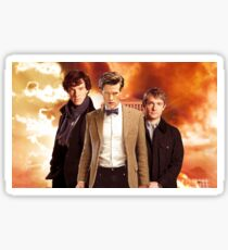 WhoLock Group Sticker