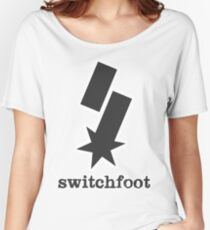"""Switchfoot """"S"""" Logo (Gray) Women's Relaxed Fit T-Shirt"""