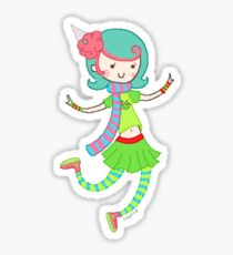 Trickster Roxy Sticker