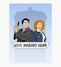 Sci-fi Innuendo Squad Photographic Print