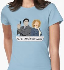 Sci-fi Innuendo Squad Women's Fitted T-Shirt