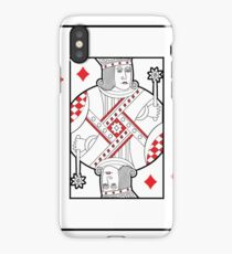 Single playing cards vector: Jack of Hearts iPhone Case/Skin