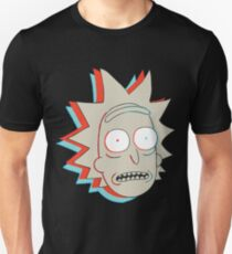 Rick and Morty: 3D Rick T-Shirt