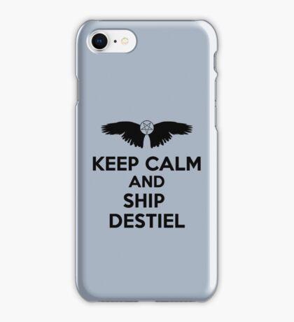 Ship Destiel iPhone Case/Skin